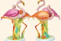 flamingos / by Virginia Hasting