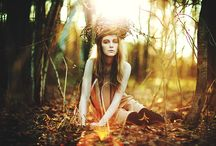 Autumn Makeup Shoot Mood Board
