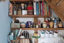 Shelves for awkward places / Shelves