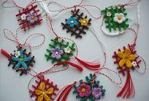 Romanian Tradition's & Crafts / 1 martie, 1 march, martisor, martisoare, obiceiuri romanesti, traditii romanesti, #martisor, #martie, #martisoare, #traditii, #traditie, #obiceiuri