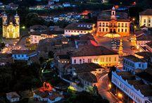 Cidades Históricas Brasileiras. / Antigas e novas fotos de cidades históricas brasileiras