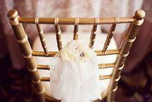 Chair Decor-Love the Details!