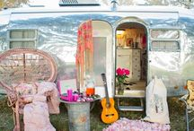 mama Lambert's airsteam / we created a special mama haven with Miranda lambert for her mom Bev! here's the photos, the inspirations and the goods we used in this special airstream! / by JuNK GyPSY