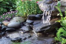 Water features.