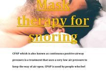 Best CPAP Mask theraphy for snoring