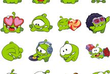 Cut the Rope stickers