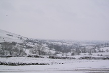 Snow in the Peak District Holiday Cottage