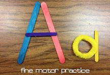 Education Alphabet/Name/Letter Activities / by Missy Himrich