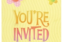 Party Invitations / by Easykid Party Supplies