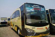 Sewa Bus Jogja / Daftar Sewa Bus Pariwisata Harga Murah di Jogja / Yogyakarta, Bus Pariwisata Seat 25, 31, 35, 50 dan 60