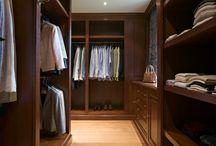 Lefèvre Interiors dressing room design - traditional / Custom made design