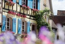 Eguisheim Alsace / The most beautifull place amongst wineyards