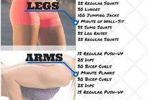 Three workouts
