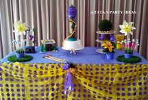 "TANGLE - BDAY PARTY (RAPUNZEL - ANIVERSARIO) BY @THATA PARTY IDEAS / Birthday Party inspired on the MOVIE ""TANGLE"" -  Festa de Aniversario inspirada no FILME ""RAPUNZEL"". Check it out: https://www.facebook.com/TatasPartyIdeas"