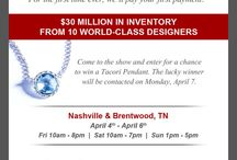 Spring Bridal Extravaganza April 4-6, 2014! / Spring Bridal Extravaganza Brentwood and Nashville, TN stores: April 4-6 $30,000,000 in inventory from 10 world-class designers. 20% off! 24 months no interest financing.  Genesis Diamonds pays your first payment! / by Genesis Diamonds