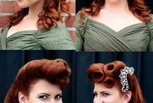 1940's Inspiration / Victory rolls galore!