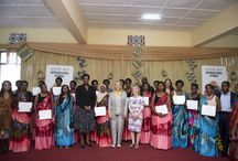 Rwanda Graduation 2016 / After a few months of business training, our artisans were graduated by the First Lady of Rwanda Jeannette Kagame.