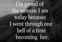 being a woman