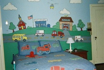 Boys room decoration