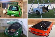 Upcycled/Repurposed Cars