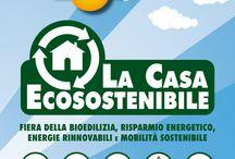 Aquapol vi invita alla Fiera La casa ecosostenibile / Fiera della Bioedilizia, Risparmio Energetico, Energie Rinnovabili e Mobilità Sostenibile