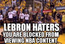 NBA LEBRON WARRIORS