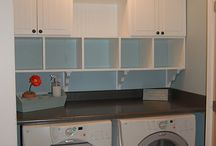 Laundry Rooms / Ideas to make laundry space more fun & functional