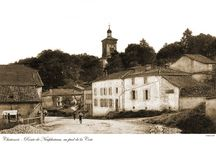 Chatenois Haut-Vienne France / Reproductions of old postcards made around a hundred years ago.
