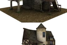 fantasy buildings and locations