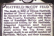 1863-91 Hatfield 's & McCoy's / by Margaret Martin