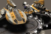 Awesome Concept Spaceships