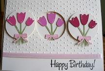 birthday cards / by Jean Scholler Vetter