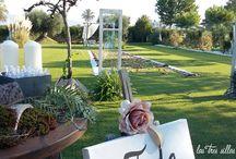 Alquiler de muebles en Murcia para bodas con estilo - Renting furniture for Murcia's weddings / Bodas con magia también en Murcia con nuestra colección de muebles renovados y objetos recuperados.