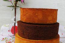 bizcocho base tarta fantasía