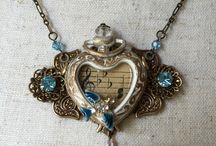 Lori Anngelo Designs / My Creatons! All Items are Handmade and One of a Kind incorporated with Repurposed Vintage Bits and Pieces. Jewelry available at: 1. https://www.etsy.com/shop/LoriAnngeloDesigns 2. The Buffalo Nickel Antique Market,1004 3rd St S, Buffalo, Minnesota  3. Facebook: https://www.facebook.com/LoriAnngelo and check out more images of my work on: flickr.com/photos/lori_anngelo_designs