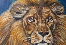 loesruland schilderij dieren
