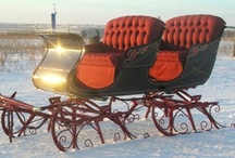 Carriages, Sleighs & Wagons / by Jennifer Thompson