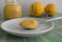 pasta di limone con altri tipi di frutta.