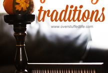 Family Traditions / Traditions for after the kids marry, holiday traditions