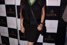 Shaheen Abbas For Gehna / Let's take you through all the excitement at the most talked about launch party! Some of the renowned celebs from the B'town industry made their presence felt at the event. Neha Dupia, Dia Mirza, Mandira bedi, Aditi Rao Hydai & Arshad Warsi are a few amongst the elite guests.