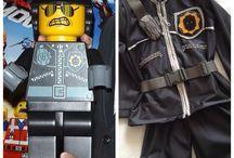 Lego bad cop costüm çoçuk kostümleri / Çoçuk kostümleri