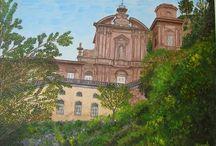 Città della Cava / in questo album raccolgo dipinti che rappresentano paricolari della città di Cava de' Tirreni