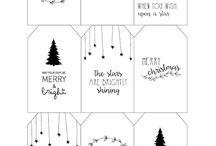 Christmas doodles