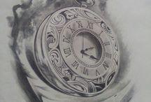Kompass. uhr