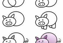 Σχεδιάζω ζωάκια!!
