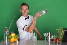 Ambasador Lubuski Vodka Marek Posłuszny / Marek Posłuszny - Mistrz Świata w stylu flair, poleca Lubuski Vodka!