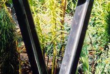 Металл в саду