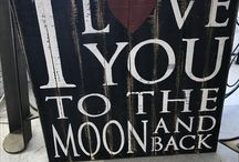 Painted Signs at DeFrance Antiques