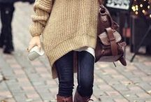 Fall Fashion Favorites / Great pieces for your fall wardrobe and ideas to get you in the mood for cooler temps. From oversized sweaters to fun boots, you will love all these fashion ideas for fall perfect for every budget.