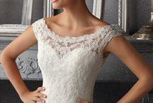 wedding dresses / by Morgan Brooke Howell